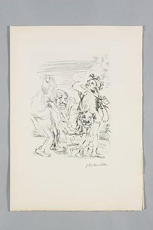 Die Frösche. Eine Komödie mit zwölf Kaltnadel-Radierungen: Kokoschka - Aristophanes.