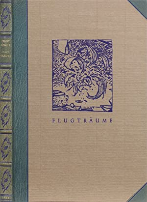 Flugträume. Bayreuth, The Bear Press 1983. 4to.: Jünger, Ernst.