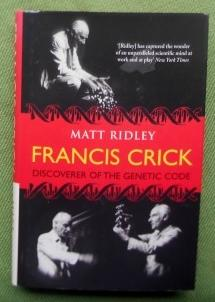 Francis Crick. Discoverer of the Genetic Code.