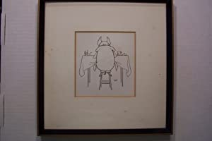 Original Drawing of Tailpiece to the story: Leonard Leslie Brooke