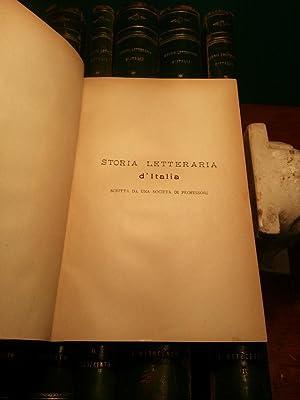 STORIA LETTERARIA D'ITALIA - in tredici tomi: AA.VV.