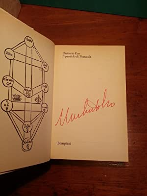 IL PENDOLO DI FOUCAULT AUTOGRAFO (SIGNED BY AUTHOR): ECO UMBERTO (1932-2016)