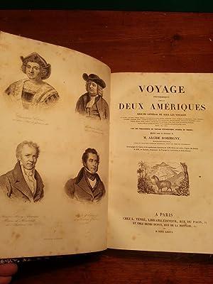 VOYAGE PITTORESQUE DANS LES DEUX AMERIQUES. RESUME: D'ORBIGNY ALCIDE CHARLES