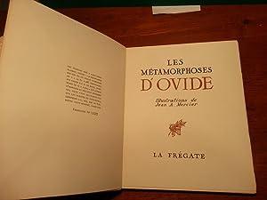 LES METAMORPHOSES D'OVIDE. CHOIX DE SEIZE FABLES. ILLUSTRATIONS DE JEAN A. MERCIER: OVIDE; ...