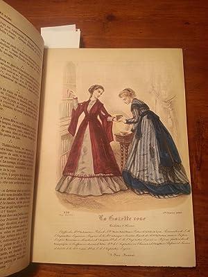 LA GAZETTE ROSE 1868 ONZIEME ANNEE COMPLET DE 23 PLANCHE EN COULEUR: AAVV; VESSE DE RENNEVILLE (Mme...