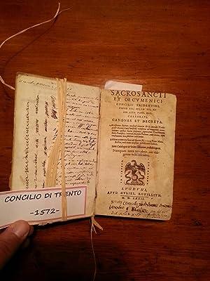 SACROSANCTI ET OECUMENICI CONCILII TRIDENTINI, PAULO III: SOTEAULX JEAN (M.1567);