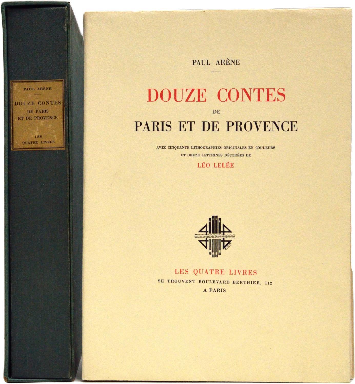 Douze contes de Paris et de Provence Arène (Paul) Fine Softcover