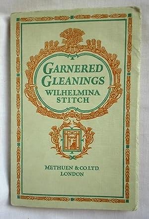 Garnered Gleanings: Stitch, Wilhelmina