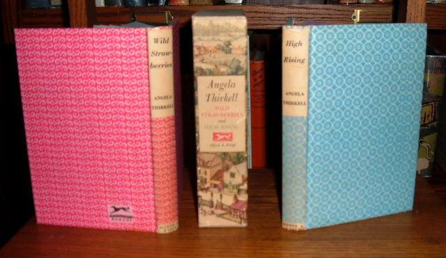 Wild Strawberries And High Rising (two Books In Slipcase) Thirkell, Angela Very Good Hardcover