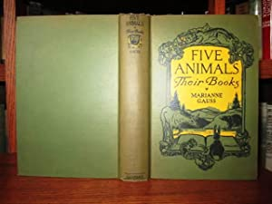 Five Animals - Their Books
