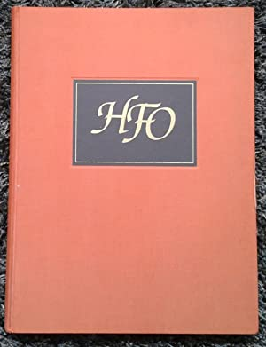 H.F.O. - Some Personal Perspectives on Harry: Various Authors &