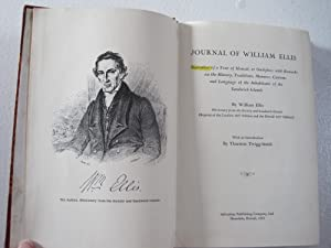 Journal of William Ellis : Narrative of a Tour of Hawaii, or Owhyhee; with Remarks on the History...