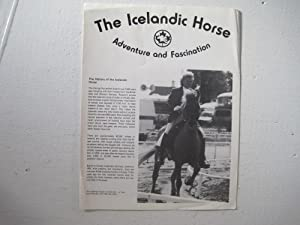 The Icelandic Horse : Adventure and Fascination.