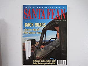 Santa Fean Magazine May 2002 Jim Harrison Volume 30 Number 4