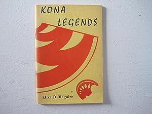 Kona Legends.: Maguire, Eliza D.