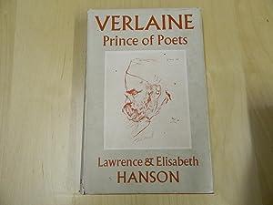Verlaine: Prince of Poets: Hanson, Lawrence &