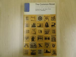 The Common Muse: De Sola Pinto, V & Rodway A.E.