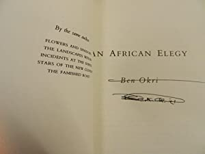 An African Elegy-SIGNED FIRST IMPRESSION: Okri, Ben