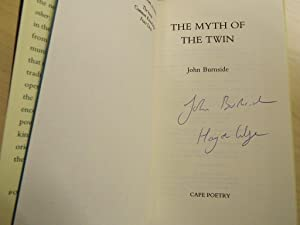 The Myth of the Twin - SIGNED & LOCATED FIRST PRINTING: Burnside, John