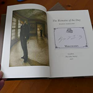 The Remains of the Day-SIGNED VIA BOOKPLATE: Ishiguro, Kazuo