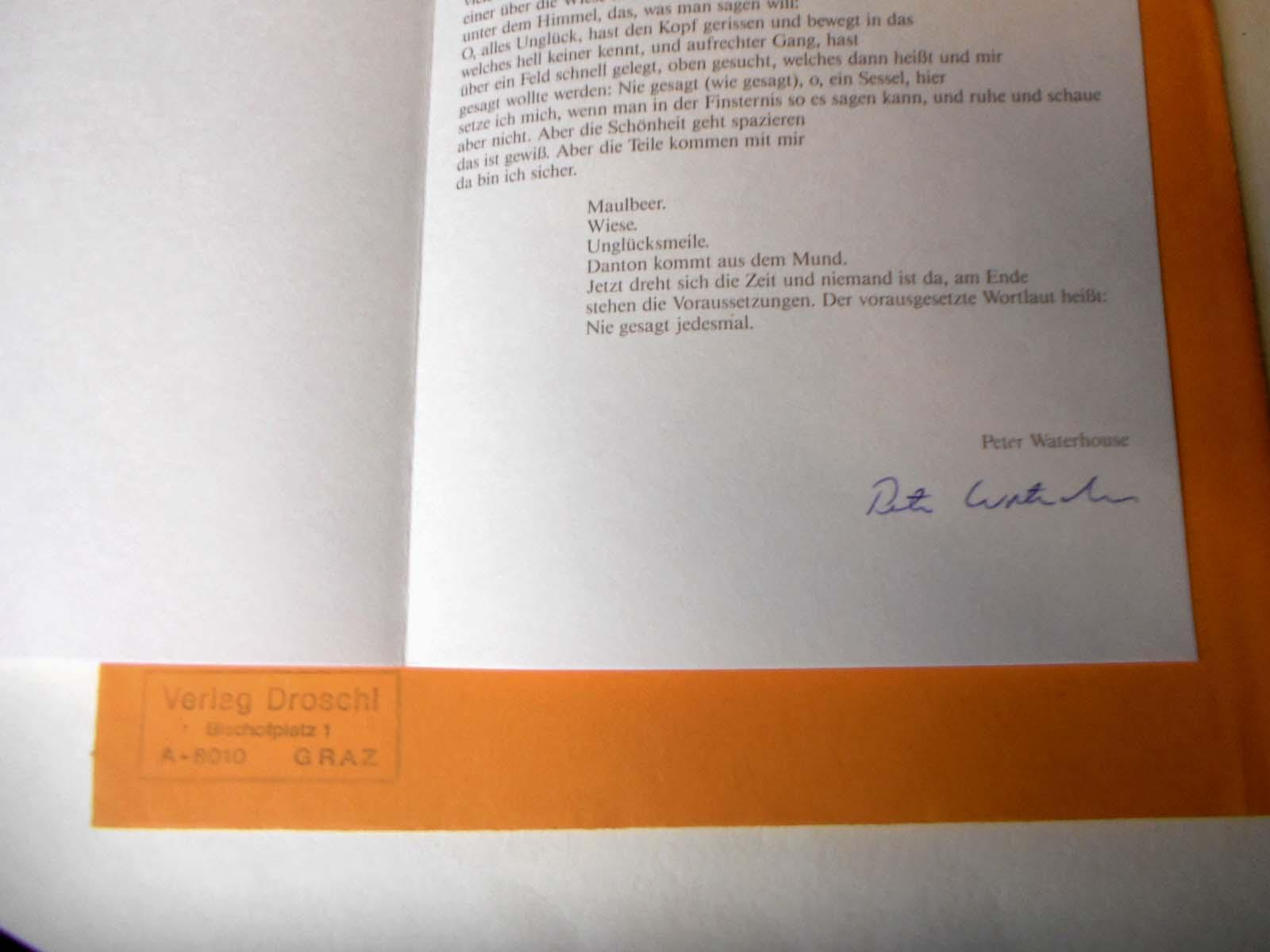 Jahresgabe Der Manuskripte Edition 1985
