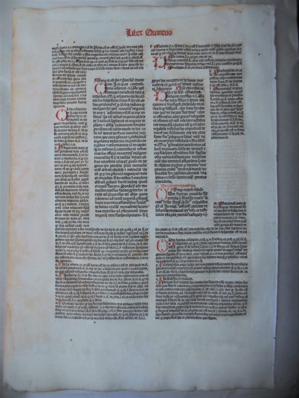 Decretales. (Mit der Glosse des Bernardus Parmensis).: Gregor IX., Papst.