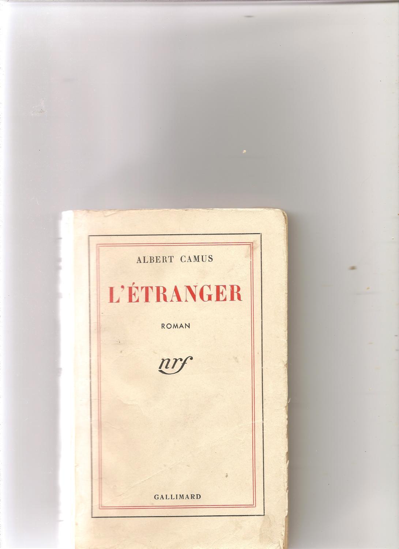 f4b57b266d1 L etranger edition originale tirage decembre 1942 par Albert Camus ...