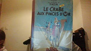 Le crabe aux pinces d'or Tintin B13: Herge