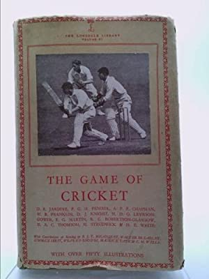 The Game Of Cricket: Chapman, A.P.F, Fender,