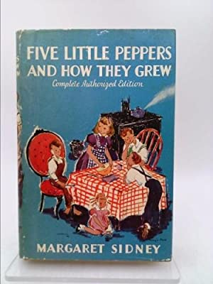 Five Little Peppers and How They Grew: Margaret, Illustrated By
