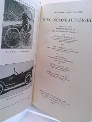 The Gasoline Automobile (Second Edition Completely Revised and Rewritten: Hobbs, George W. And Ben ...