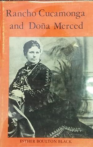 Rancho Cucamonga and Dona Merced: Black, Esther Boulton