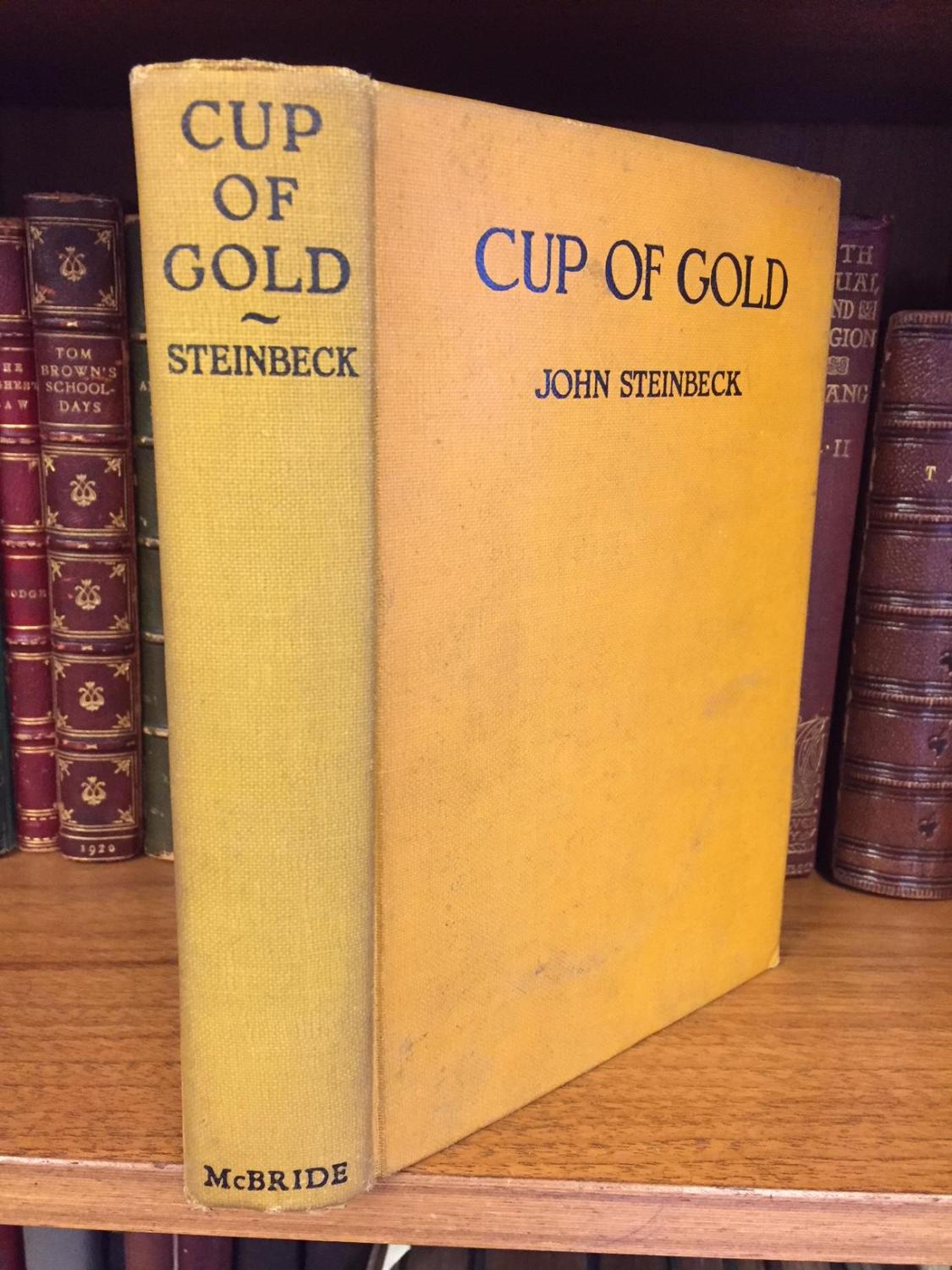CUP OF GOLD Steinbeck, John Softcover