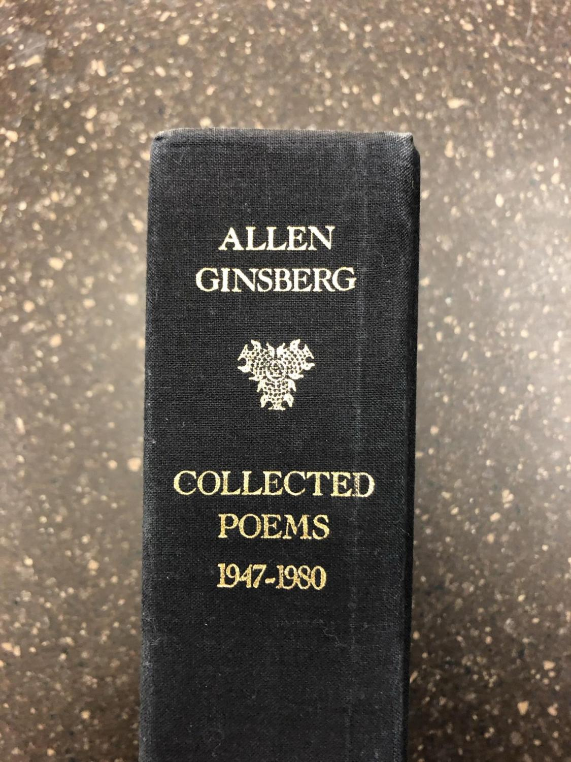Collected Poems 1947 1980 Inscribed By Ginsberg To Jerry