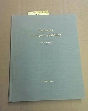 CATALOGUE DE MONNAIES GRECQUES ANTIQUES PROVENANT DE: M.W. Kundig