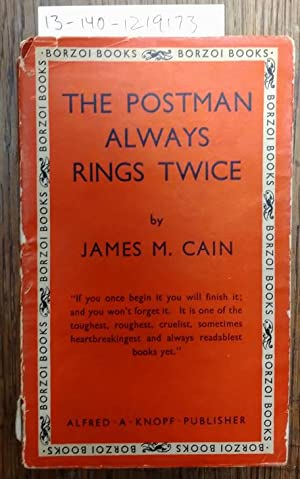 THE POSTMAN ALWAYS RINGS TWICE (Paperback): Cain, James M.