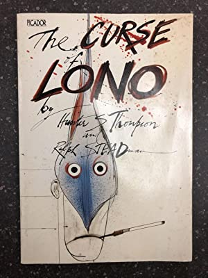 THE CURSE OF LONO [Signed by Steadman]