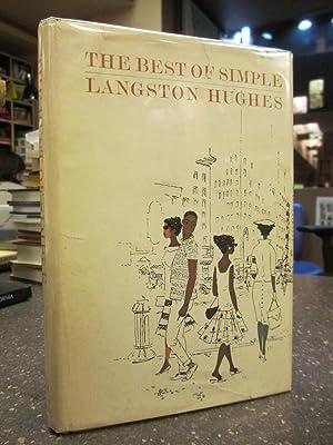 THE BEST OF SIMPLE [SIGNED]: Hughes, Langston; Nast, Bernhard [illustrator]