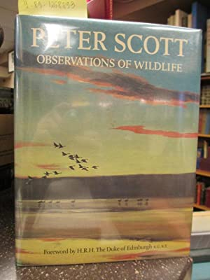 PETER SCOTT OBSERVATIONS OF WILDLIFE