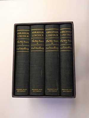 ABRAHAM LINCOLN [4 VOLUMES]: Sandburg, Carl