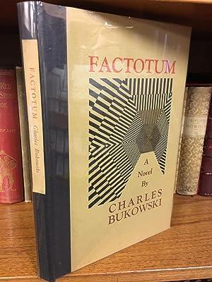 FACTOTUM [SIGNED]: Bukowski, Charles