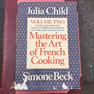 MASTERING THE ART OF FRENCH COOKING [VOLUME TWO ONLY] [SIGNED]