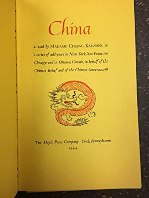 CHINA [SIGNED BY HOWARD KING]