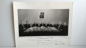 PHOTOGRAPH OF THE WARREN COMMISSION SIGNED BY GERALD FORD
