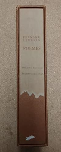 POEMES : OEUVRE COMPLETE: Severin, Fernand [author];