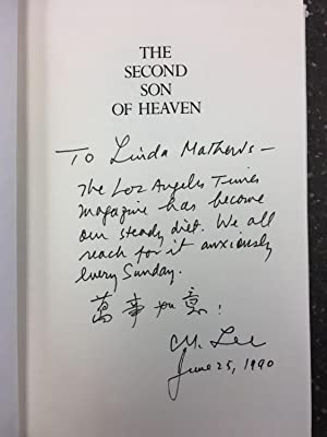THE SECOND SON OF HEAVEN [SIGNED]