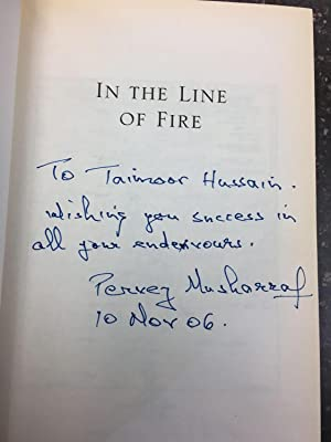 IN THE LINE OF FIRE [SIGNED]