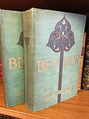 BEN-HUR: A TALE OF THE CHRIST [TWO VOLUMES] [SIGNED]