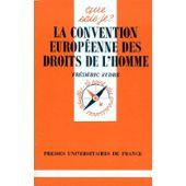 CONVENTION EUROPEENNE DROITS HOMME: SUDRE, FREDERIC
