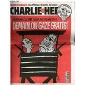 CHARLIE HEBDO N°249 achtung le fn tient ses promesses demain on gaze gratis.CABU: COLLECTIF